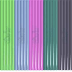Sada vláken pro 3D tiskové pera 3Doodler PL-MIX11, PLA plast, 55 g, zelená, šedá, světle modrá, růžová