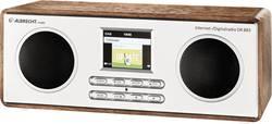 Internetové, DAB+, FM stolní rádio Albrecht DR 883 s Wi-Fi, dřevo