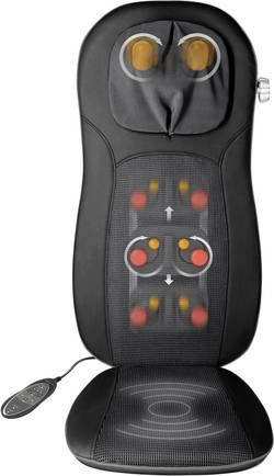 Masážní potah sedačky Medisana MCN pro Shiatsu, 48 W, černá - Medisana MCN Pro 88970 - Medisana MCN Pro 88970