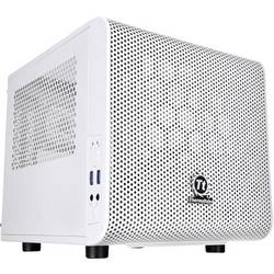 PC skrinka mini tower Thermaltake Core V1 Snow, biela