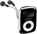 s Basetech Lecteur MP3 BT-MP-100 BT-1577238 0 GB Noir Blanc Clip de Fixation 1 pc