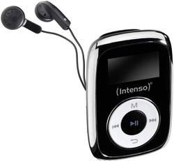 Lecteur MP3 Intenso Music Mover 8 Go noir clip de fixation