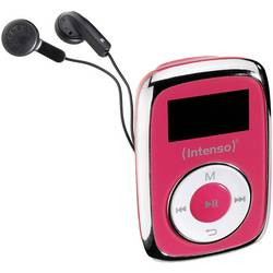 MP3 prehrávač Intenso Music Mover, 8 GB, upevňovací klip, ružová