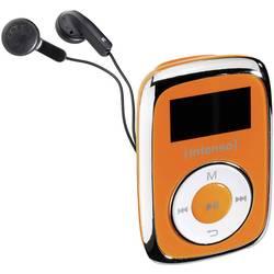 MP3 prehrávač Intenso Music Mover, 8 GB, upevňovací klip, oranžová