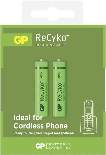 Micro (AAA)-Akku NiMH GP Batteries HR03 650 mAh 1.2 V 2 St.