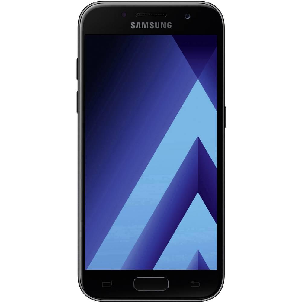 smartphone 4g 4 7 pouces samsung galaxy a3 2017 16 go. Black Bedroom Furniture Sets. Home Design Ideas
