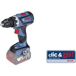 Aku vŕtací skrutkovač Bosch Professional GSR 18V-60 C 06019G1103, 18 V, Li-Ion akumulátor