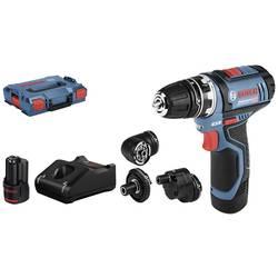 Aku vŕtací skrutkovač Bosch Professional GSR 12V-15 FlexiClick 06019F6000, 12 V, 2 Ah, Li-Ion akumulátor