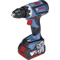 Aku vŕtací skrutkovač Bosch Professional GSR 18V-60 C 06019G1101, 18 V, 5 Ah, Li-Ion akumulátor
