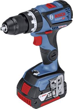 Aku příklepová vrtačka Bosch Professional GSB 18V-60 C 06019G2100, 18 V, 5 Ah, Li-Ion akumulátor