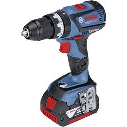 Aku príklepová vŕtačka Bosch Professional GSB 18V-60 C 06019G2100, 18 V, 5 Ah, Li-Ion akumulátor