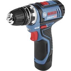 Aku vŕtací skrutkovač Bosch Professional GSR 12V-15 FlexiClick 06019F6001, 12 V, 2 Ah, Li-Ion akumulátor