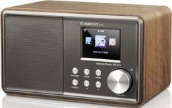 Internetové, FM stolní rádio Albrecht DR 471, Wi-Fi, dřevo
