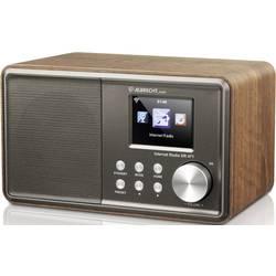 Internetové stolní rádio Albrecht DR 471, internetové rádio, FM, AUX, Wi-Fi, DLNA, dřevo