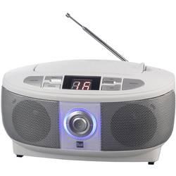 FM rádio s CD prehrávačom Dual P 49-1, UKW, CD, biela
