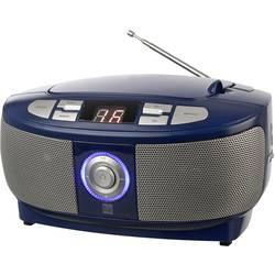 FM rádio s CD prehrávačom Dual P 49-1, UKW, CD, modrá