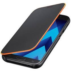 Samsung Neon Flip Cover EF-FA520, vhodný pre: Samsung Galaxy A5 (2017), čierna