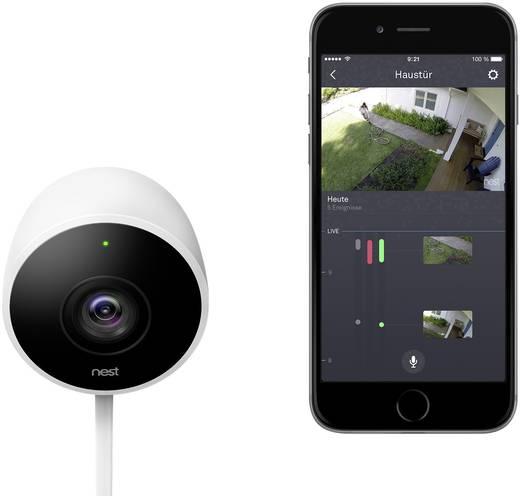 nest cam outdoor berwachungskamera au enbereich. Black Bedroom Furniture Sets. Home Design Ideas