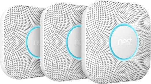 Nest Protect Funk Rauch- und Kohlenmonoxidmelder, 3er Pack
