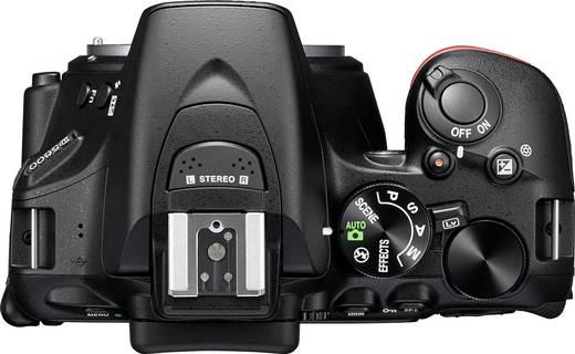 digitale spiegelreflexkamera nikon d5600 24 2 mio pixel schwarz wifi full hd video kaufen. Black Bedroom Furniture Sets. Home Design Ideas