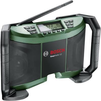 UKW Baustellenradio Bosch Home and Garden EasyRadio 12 AUX, MW, UKW Preisvergleich