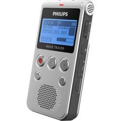 Digitální diktafon Philips DVT1300 Maximální čas nahrávání 1180 h stříbrná