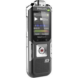 Digitální diktafon Philips DVT6010 Maximální čas nahrávání 2280 h stříbrnošedá