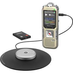 Digitální diktafon Philips DVT8010 Maximální čas nahrávání 2280 h champagne