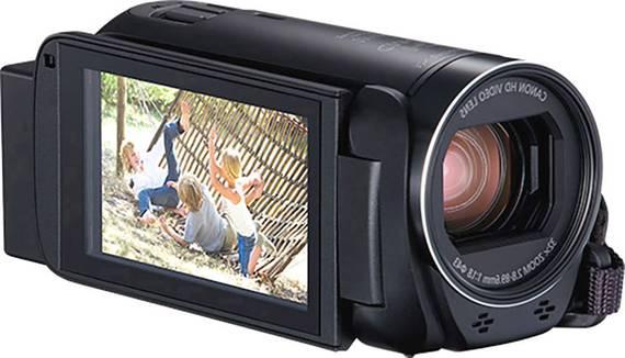 Canon Camcorder Aufnahme mit schöner Bildqualität.