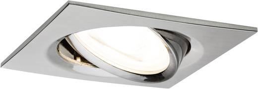 Einbauleuchte EEK: A+ (A++ - E) LED GU10 7 W Paulmann 93619 Nova Eisen (gebürstet)