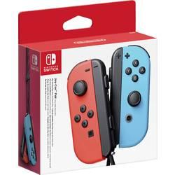 Gamepad Nintendo 2x Joy-Con, neonově červená, neonová modrá