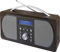 DAB+ přenosné rádio SoundMaster DAB600DBR, DAB+, FM, dřevo