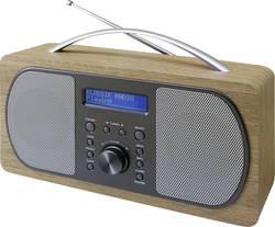 DAB+ přenosné rádio SoundMaster DAB600HBR, DAB+, FM, světle hnědá