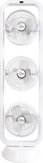 Tischventilator Suntec CoolBreeze 9.500 Tri-Vario TV+ 105 W (L x B x H) 240 x 280 x 985 mm Weiß