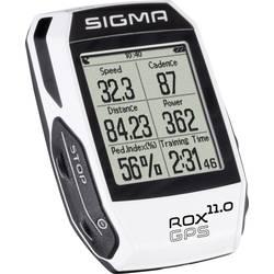 Bezdrátový cyklopočítač Sigma ROX 11.0 GPS Basic blanc, kódovaný přenos