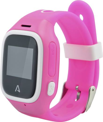 gps tracker lamax watchy personentracker pink kaufen. Black Bedroom Furniture Sets. Home Design Ideas