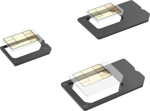 sim adapter hama adaptiert von nano sim micro sim adaptiert auf micro sim standard sim kaufen. Black Bedroom Furniture Sets. Home Design Ideas