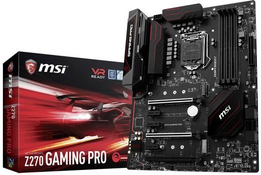 Mainboard MSI Gaming Z270 GAMING PRO Sockel Intel® 1151 Formfaktor ATX Mainboard-Chipsatz Intel® Z270