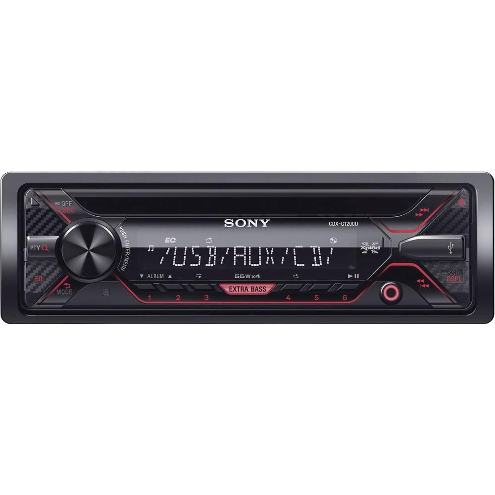 Sony CDX-G1200U Autoradio Anschluss für Lenkradfernbedienung im ...