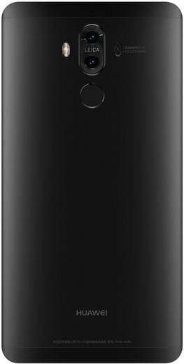 Huawei Mate 9 Hybrid-Slot LTE-Smartphone 15 cm (5.9 Zoll) 2.4 GHz Octa Core 64 GB 20 Mio. Pixel, 12 Mio. Pixel Android™