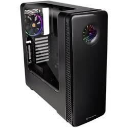PC skrinka midi tower Thermaltake View 28 RGB Riing Edition, čierna