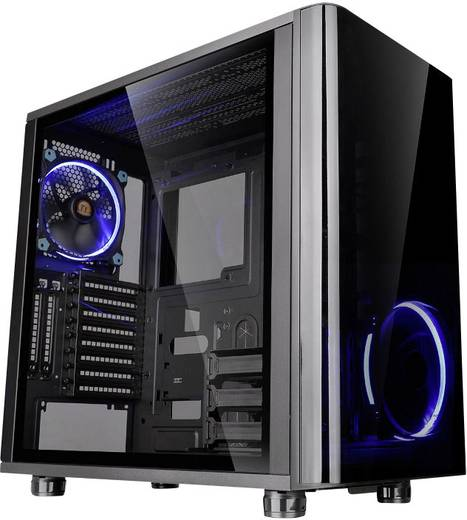 midi tower pc geh use thermaltake view 31 tg schwarz kaufen. Black Bedroom Furniture Sets. Home Design Ideas