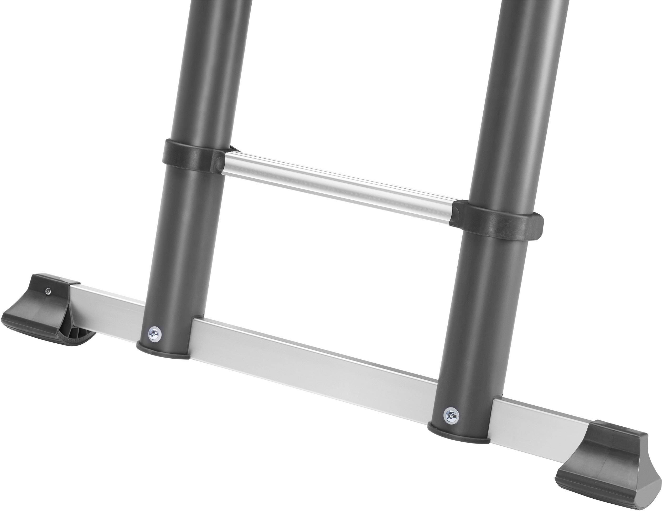 Hailo profiline t aluminium teleskopleiter inkl