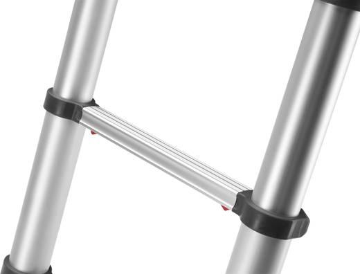 Hailo profiline t350 9113 111 aluminium teleskopleiter inkl