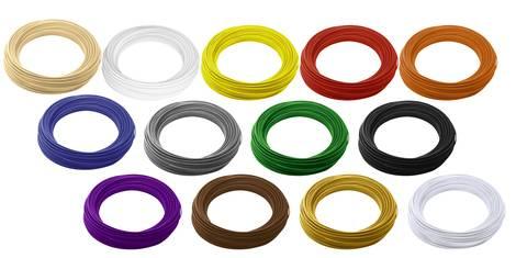 Filamente in unterschiedlichen Farben