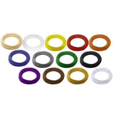 Filament-Paket Renkforce PLA 2.85 mm Natur, Weiß, Gelb, Rot, Orange, Blau, Grau, Grün, Sch Preisvergleich