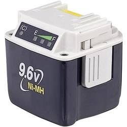 Náhradný akumulátor pre elektrické náradie, Makita BH9020A 193590-1, 9.6 V, 2 Ah, Ni-MH