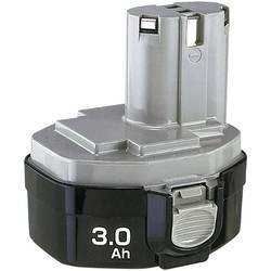 Náhradní akumulátor pro elektrické nářadí, Makita 1435 193060-0, 14.4 V, 2.8 Ah, Ni-MH