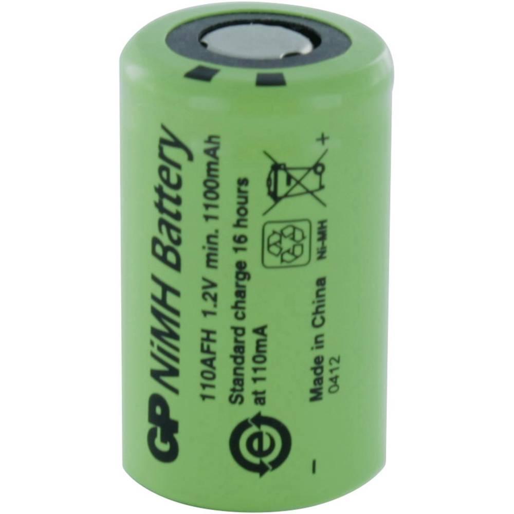 pile rechargeable sp ciale 2 3 a t te plate nimh gp batteries gp110afh 1 2 v 1100 mah sur le. Black Bedroom Furniture Sets. Home Design Ideas