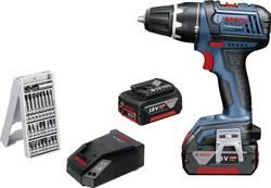 Aku vrtací šroubovák Bosch Professional GSR 18 V-LI 060186610X, 18 V, 4 Ah, Li-Ion akumulátor